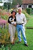 PIET AND ANJA OUDOLF IN THEIR GARDEN AT HUMMELO  HOLLAND