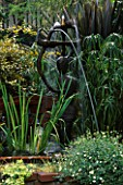 BRONZE FERTILITY GODDESS FOUNTAIN BY MICHELLE MUENNIG IN ROBERT CLARKS SAN FRANCISCO GARDEN