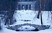 THE COLONNADE OF APOLLO  PAVLOSK PARK  RUSSIA
