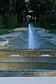 THE ALNWICK GARDEN  NORTHUMBERLAND: THE GRAND CASCADE