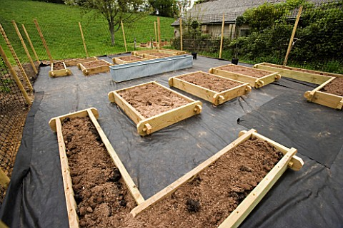 DESIGNER_CLARE_MATTHEWS_THE_POTAGER_BEFORE_GRAVEL_AND_PLANTS_ARE_ADDED