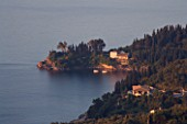 CORFU  GREECE: VIEW OF AGNI JUST AFTER DAWN