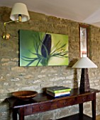 CANVAS WRAP PRINT HANGING INSIDE HOUSE