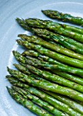 DESIGNER: CLARE MATTHEWS - CLOSE UP OF COOKED ASPARAGUS. EDIBLE  VEGETABLE  FOOD