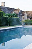 PRIVATE GARDEN, COTSWOLDS: DESIGNER ALISON HENRY - LAWN, SWIMMING POOL, FORMAL, WATER, CLASSIC,  ENGLISH,  GARDEN