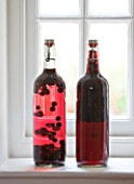 DESIGNER: CLARE MATTHEWS: FRUIT GARDEN PROJECT - HOME GROWN PRESERVES IN GLASS BOTTLES