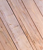 DESIGNER CLARE MATTHEWS - DECKING PROJECT - DECKING BOARDS - CLOSE UP OF DECKING