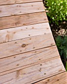 DESIGNER CLARE MATTHEWS - DECKING PROJECT - NAILING INTO DECK BOARD