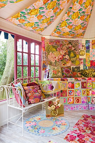CHELSEA_2012__INSIDE_OF_A_SHED_DECORATED_BY_KAFFE_FASSETT_WITH_NEEDLEPOINT_DESIGNS