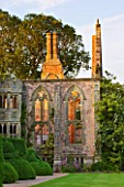 NYMANS  SUSSEX. THE NATIONAL TRUST: THE HOUSE IN EVENING LIGHT IN JUNE