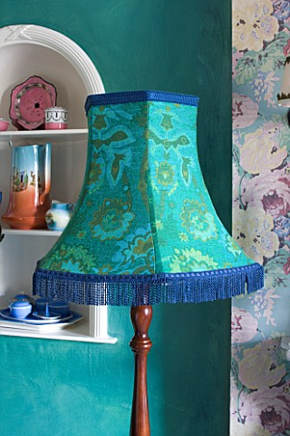 VELVET_ECCENTRIC_VELVET_ECCENTRIC_DESIGNED_LAMPSHADE_IN_VINTAGE_PATTERNED_COTTON