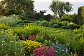 DESIGNER JAMES BASSON, SCAPE DESIGN, FRANCE: LOW MAINTENANCE GARDEN WITH ZOYSIA TENUIFOLIUM - PROVENCE, SUMMER, FLOWERS, FLOWERING, DROUGHT TOLERANT, DRY