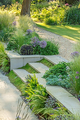 THE_OLD_RECTORY_QUINTON_NORTHAMPTONSHIRE_DESIGNER_ANOUSHKA_FEILER_SUNKEN_PATIO_STEPS_MIND_YOUR_OWN_B