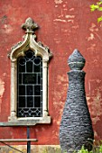 PAINSWICK ROCOCO GARDEN, GLOUCESTERSHIRE: ART UNBOUND: THE RED HOUSE, SCULPTURE PERFUME BOTTLE BY JOE AND JENNY SMITH