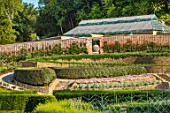 THE NEWT IN SOMERSET: PARABOLA WALLED GARDEN, GREENHOUSE, MAZE OF APPLES, WALLS