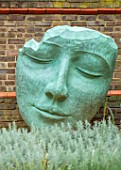 DESIGNER ANTHONY PAUL: SMALL, TOWN, FORMAL, LONDON, WALLS, HEAD SCULPTURE